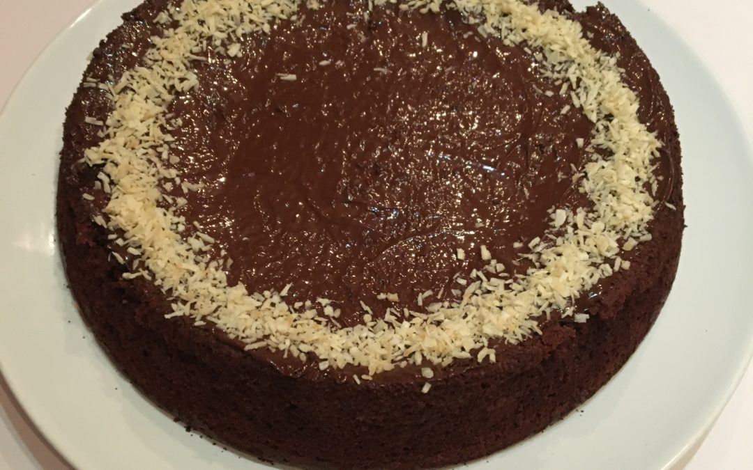 Gâteau chocolat-courgette